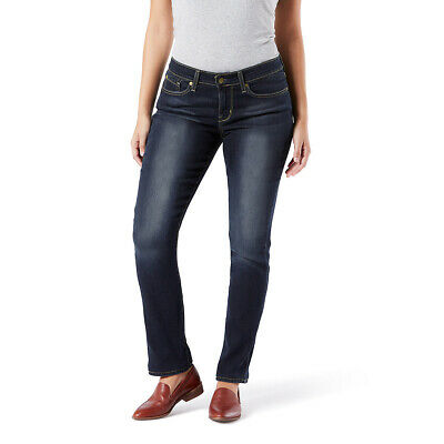 Signature By Levi Strauss & Co. Gold Label Womens Mid-Rise S
