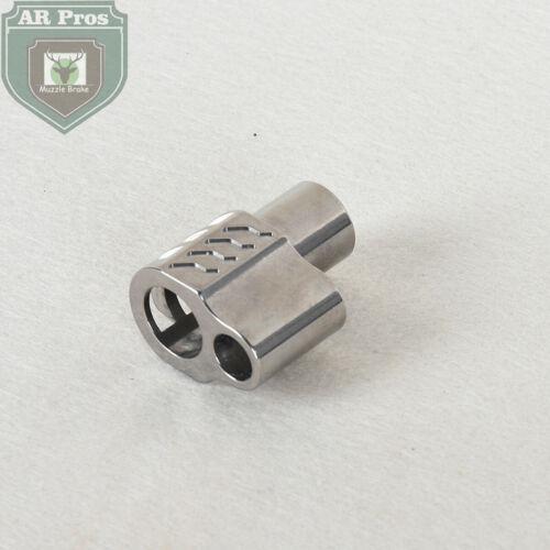 1911 Full Size .45 ACP Stainless Muzzle Brake Remove Compensator