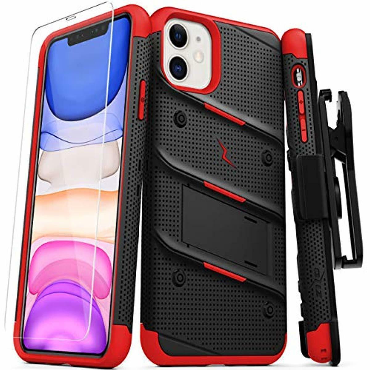 ZIZO Bolt Series iPhone 11 Case Belt Clip Holster Kickstand