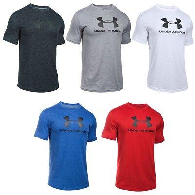 Under Armour Mens Heatgear Sportstyle Logo Fitness T-Shirt Tee ()