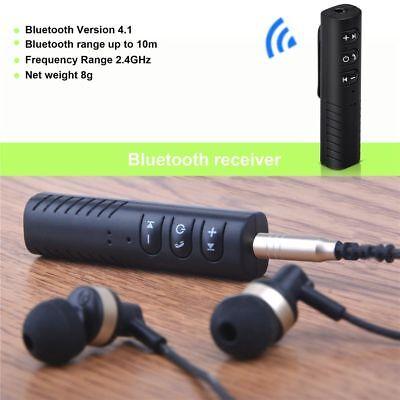 Bluetooth 4.1 3.5mm Headphones Headset Receiver Stereo Wireless Adapter