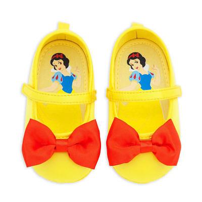 NEW Disney Store Snow White Baby Costume Shoes 0-6M Yellow](Disney Baby Snow White)