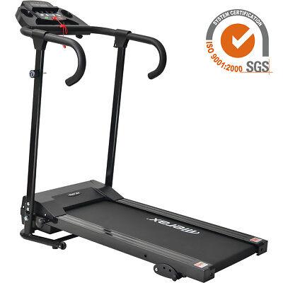Laufband Elektrisches Fitnessgerät Klappbarer Heimtrainer mit LCD-Display