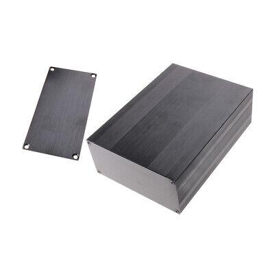 Black Aluminum Project Box Enclosure Case Electronic Diy 200x144x68mmbig