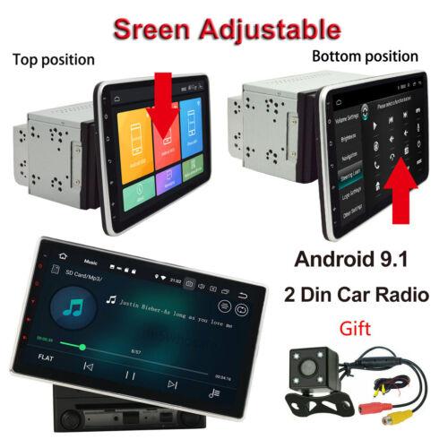 Double 2 Din 10.1inch Android 9.1 In Dash Car Radio Stereo GPS WiFi Quad Core FM