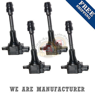 SET OF 4 Ignition Coil 02-06 FOR NISSAN ALTIMA 2.5L L4 UF350 C1398 224488-8H300