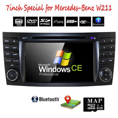 DAB+ Mercedes Benz W211 Autoradio DVD GPS für E/CLS/G Klasse W219 W463 Bluetooth