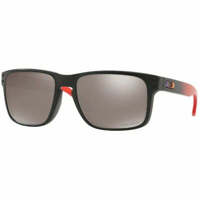 New Authentic Oakley Holbrook Men's Sunglasses w/Prizm Black Polarized OO9102 D3