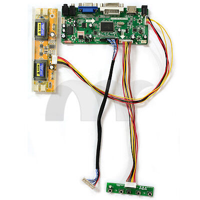 Hdmi Vga Dvi Audio Lcd Controller Board For Led Backlit Panel Diy Lcd Monitor