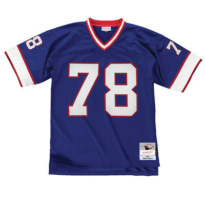 Bruce Smith Buffalo Bills Mitchell & Ness Blue Throwback Jersey XL
