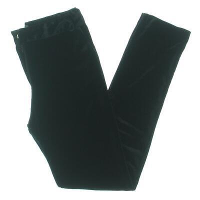Aqua Womens Velvet Skinny Party Pants BHFO 5771