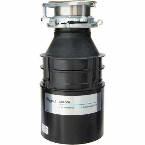 Whirlpool 1/2 HP Garbage Disposal GC2000XE