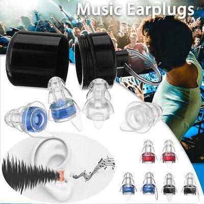 Gehörschutz Ohrstöpsel Kit 21db Musik Lärm für Konzert Musik Disco Festivals