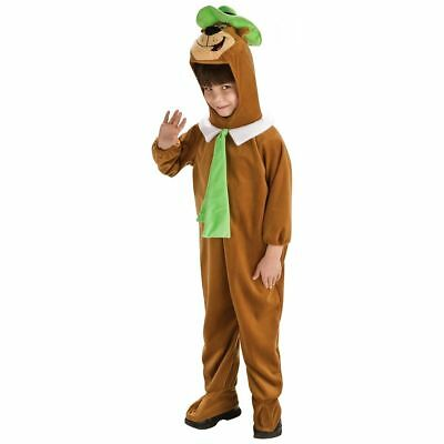 Childrens Bear Costume (Rubie's Deluxe Yogi Bear Child Costume, Halloween, Brand New, Size)
