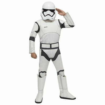 Star Wars Storm trooper Deluxe Padded Child Costume (e)](Kids Starwars Costumes)