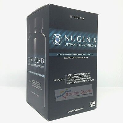 Nugenix Ultimate Testosterone  Booster Dietary Supplement 120 Tab  Free Shipping