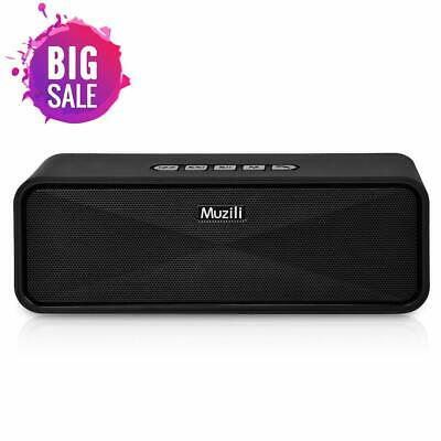 Bluetooth Speakers Portable Muzili Wireless Outdoor Stereo Speaker Mini Travel