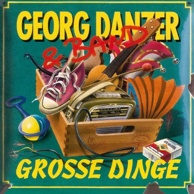 GEORG DANZER - GROSSE DINGE  2 VINYL LP NEU