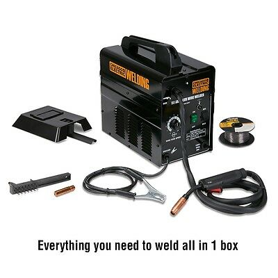 Welder-90 Amp Flux Wire Welder-no Gas Required-new In Box  Includes Wire