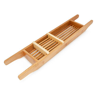 Bambus-brücke (Badewannenauflage Holz Badewannenablage Bambus Badewannenbrücke Badewannenbutler)