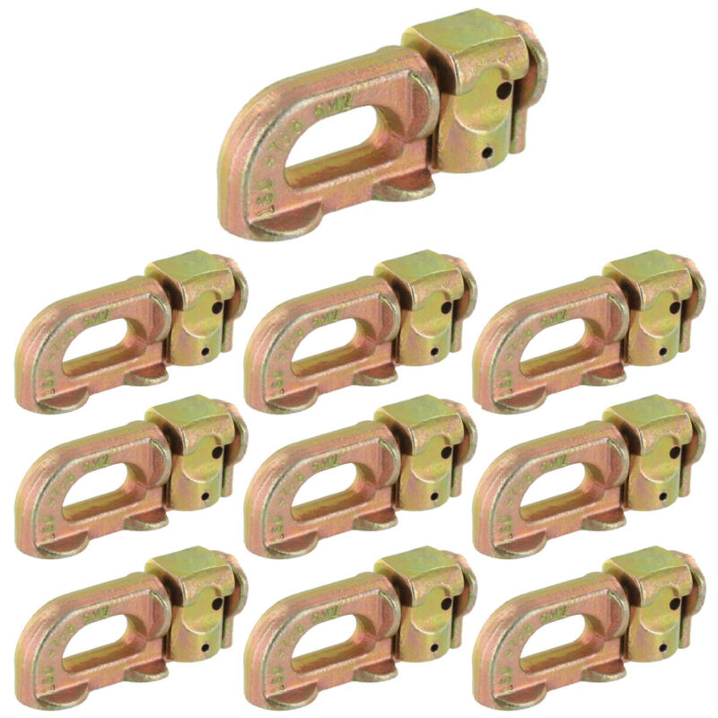 Double Stud L-Track Fitting - 10 Pack