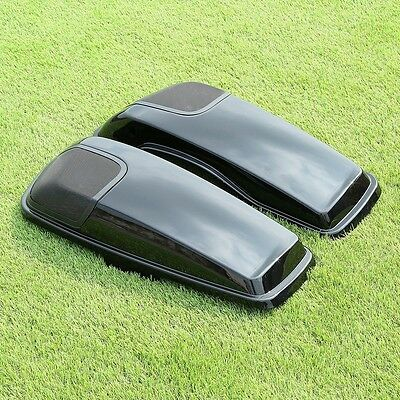 NEW Harley Saddlebag Lids Speaker Cutouts Touring Street Electra Glide 2014-2017