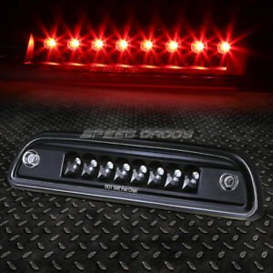 FOR 95-17 TACOMA BLACK HOUSING LED THIRD 3RD TAIL BRAKE LIGHT REAR RESERVE LAMP