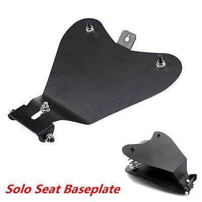 Motorcycle Solo Seat Baseplate Bracket Seat Mount Base For Chopper Bobber
