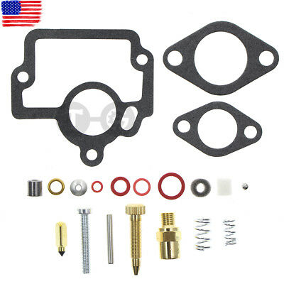 Carburetor Repair Rebuild Kit International Harvester Ih H O4 W4 I4 Hv Tractor