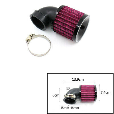 MOTORCYCLE BLACK AIR CLEANER INTAKE FILTER SYSTEM KIT FOR BOBBER CHOPP