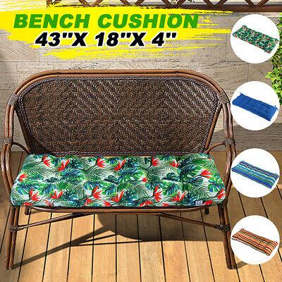 Romhouse High Rebound Foam Garden Swing Bench Cushion Mat Wa