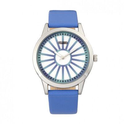 Crayo Eléctrico Mujer Azul Reloj Correa Cuarzo CR5005