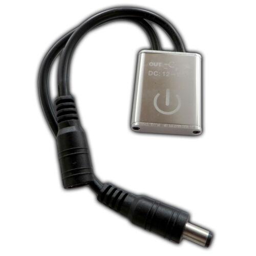 Mini IR Touch-Sensor Switch für 12-24V//DC LEDs mit 2,1mm Stecker//Buchse Dimmer