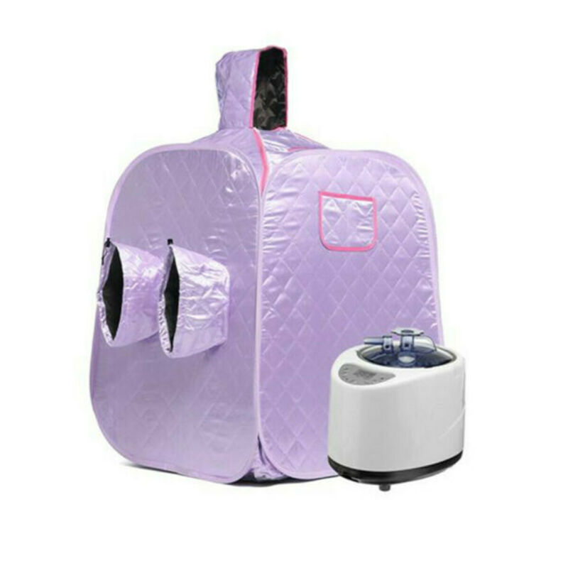 2L Portable Home Steam Sauna Spa Tent Full Body Loss Weight