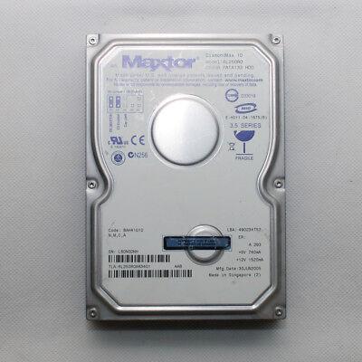 MAXTOR DIAMONDMAX10 250GB PATA 133 HDD (MAC) for sale  London