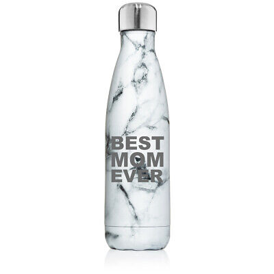 17 oz. Double Wall Insulated Stainless Steel Water Bottle Best Mom