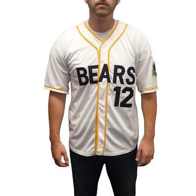 Tanner Boyle #12 Bären Baseball Trikot Bad News Kostüm Movie Uniform - Herren Baseball Uniform Kostüm