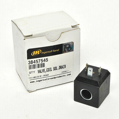 Ingersoll Rand Auto Drain 38457545 Solenoid Drain Valve Coil For Air Compressor
