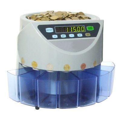 Contamonete Conta Monete 8 Cassetti Professionale Separa Monete Separatore linq usato  San Giorgio a Cremano