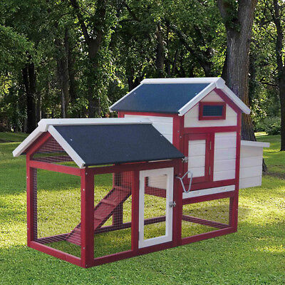 Chicken Coop Poultry House Rabbit Hutch Rabbit Cage Chicken House for sale  Shipping to Ireland