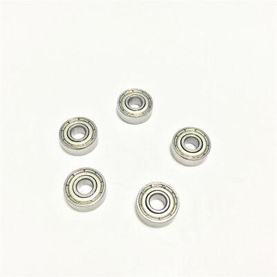 30pcs 604zz 604z 604 2z 4x12x4mm Deep Groove Ball Bearing Mini Bearing 4124