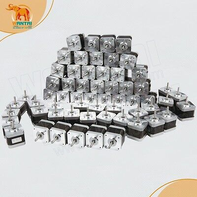 Us Free Ship-60pcs Nema 17 Stepper Motor 70oz-in42byghw8113d Printerswantai