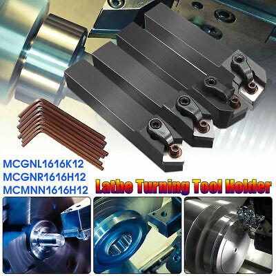 4 Set Of Mcmnn Mcgnr Mcgnl Cnc Lathe Index Turning Tool Holder Boring Bar