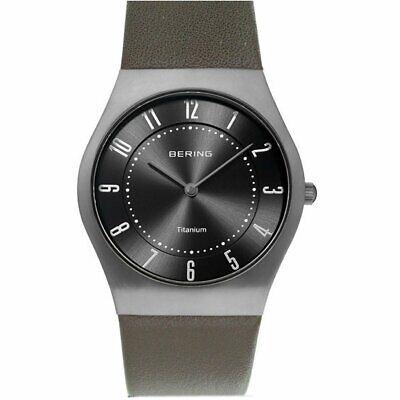 Bering Ladies Watch Wristwatch Titan Slim Classic - 11935-079-1 -