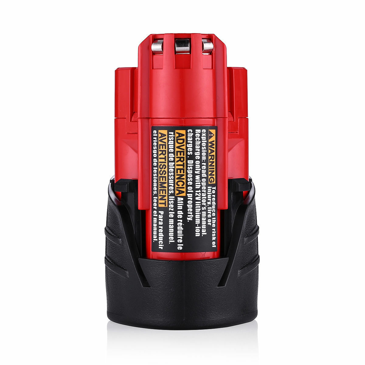 2xFor Milwaukee 48-11-2420 M12 LITHIUM Compact Battery 48-11-2402 48-11-2401 NEW 4