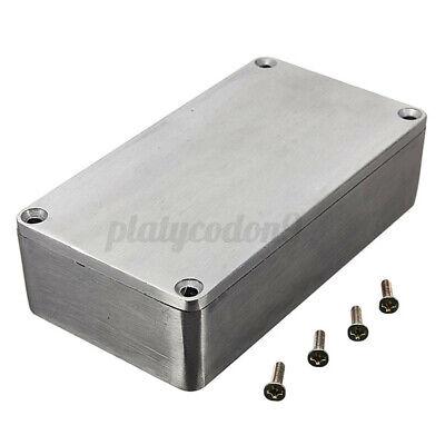 4.4x2.5x1.3 Aluminum Electronics Enclosure Project Box Case Metal Guitar Effect