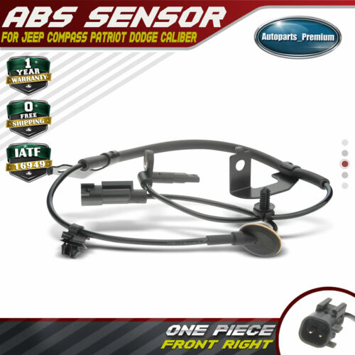 Rear Left ABS Wheel Speed Sensor for 2007-2014 Jeep Compass