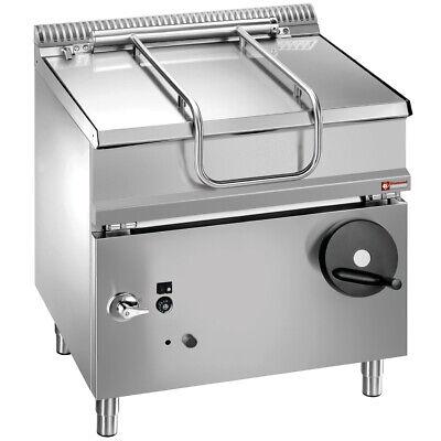 Gas Kippbratpfanne Kipper Serie 700 200 Kotelettes//h 800 x 700 x 850 mm