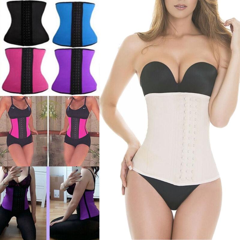 Fajas Colombianas LATEX Sport Belly Shapewear Reductoras Wai
