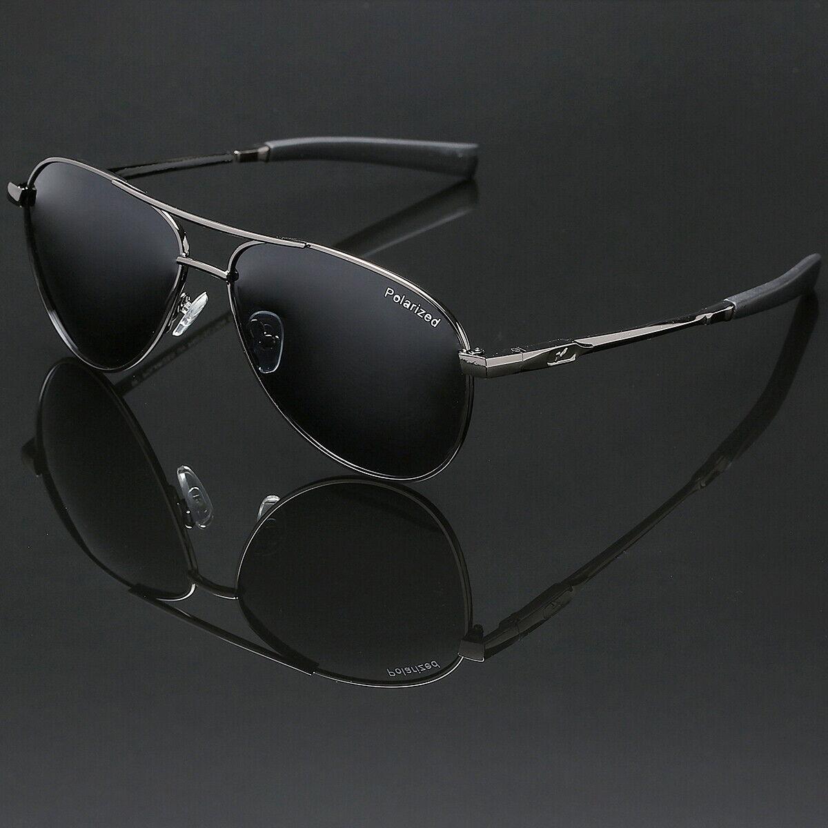 Polarized Sport Aviator Sunglasses Driving Fishing Anti Glar